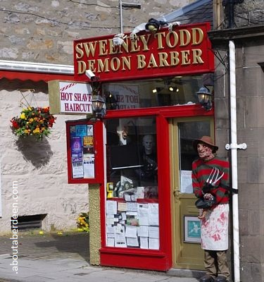 Sweeney Todd demon barber horror hairdresser