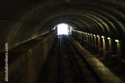 train track tunnel