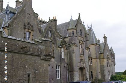 Victorian Scottish castle